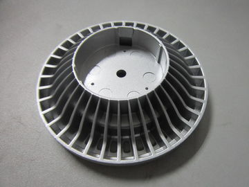 China Round Aluminium Die Casting Parts , Zinc Die Casting Products For Led Light supplier