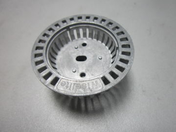 China Round Zinc Die Casting Products CNC Machined With EMI Shielding Function factory
